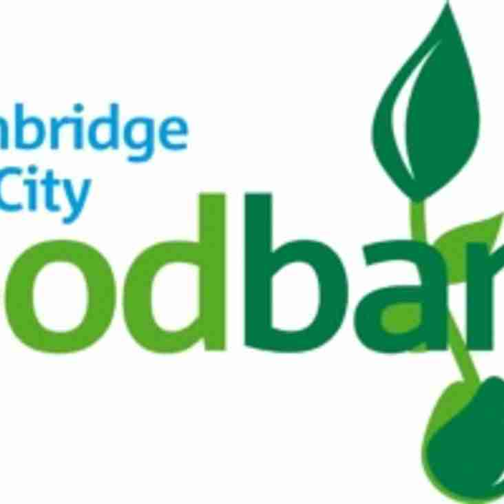 Cambridge City partner with local foodbank