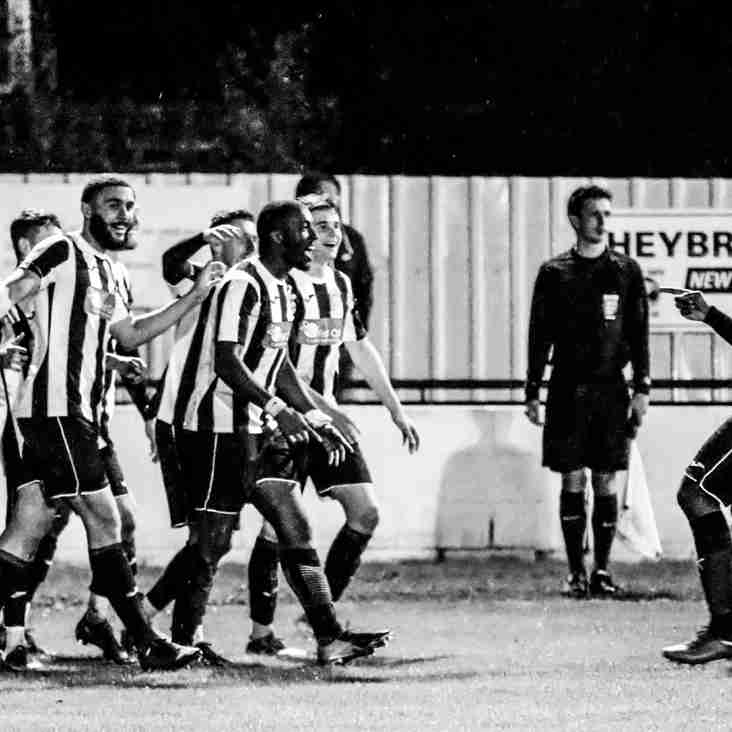 Bees and Swifts go goal mad!