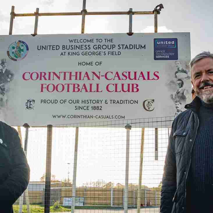 Casuals announce new ground naming deal