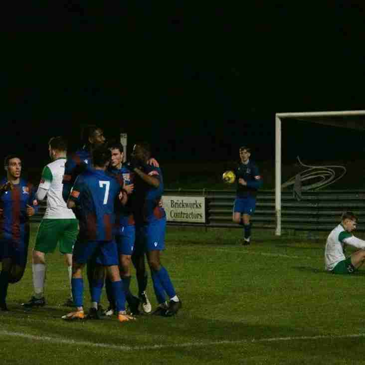 Borough win the battle of the Borough's, the Urchins down the Angels, and Maldon do what Maldon do best