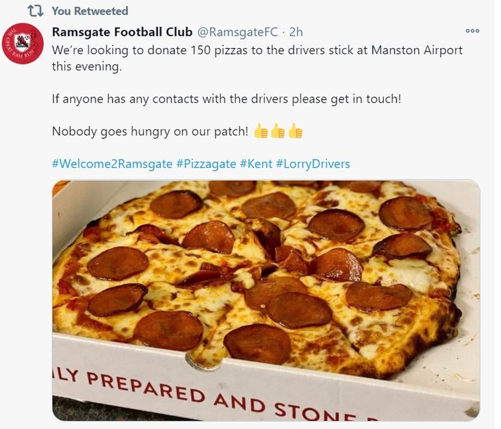 The Rams Pizza Express!