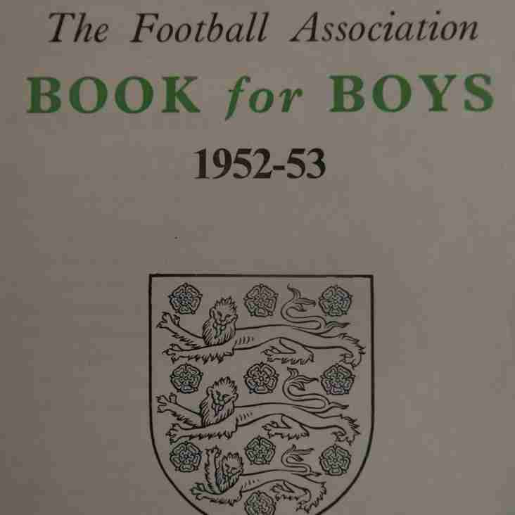 An Annual Event- The FA Book for Boys 1952-53