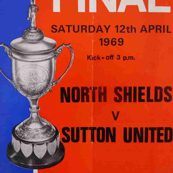 Football Programmes of Yesteryear: FA Amateur Cup Final, North Shields v Sutton United, 1969