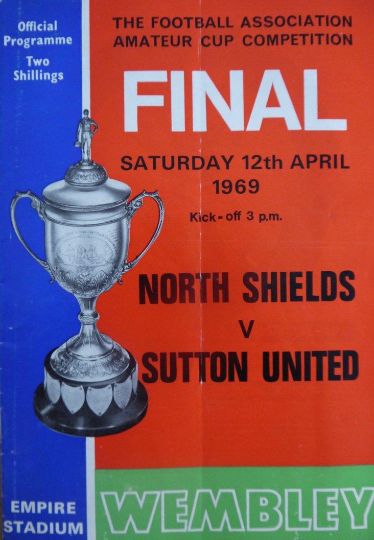 North Shields v Sutton United, Amateur Cup Final