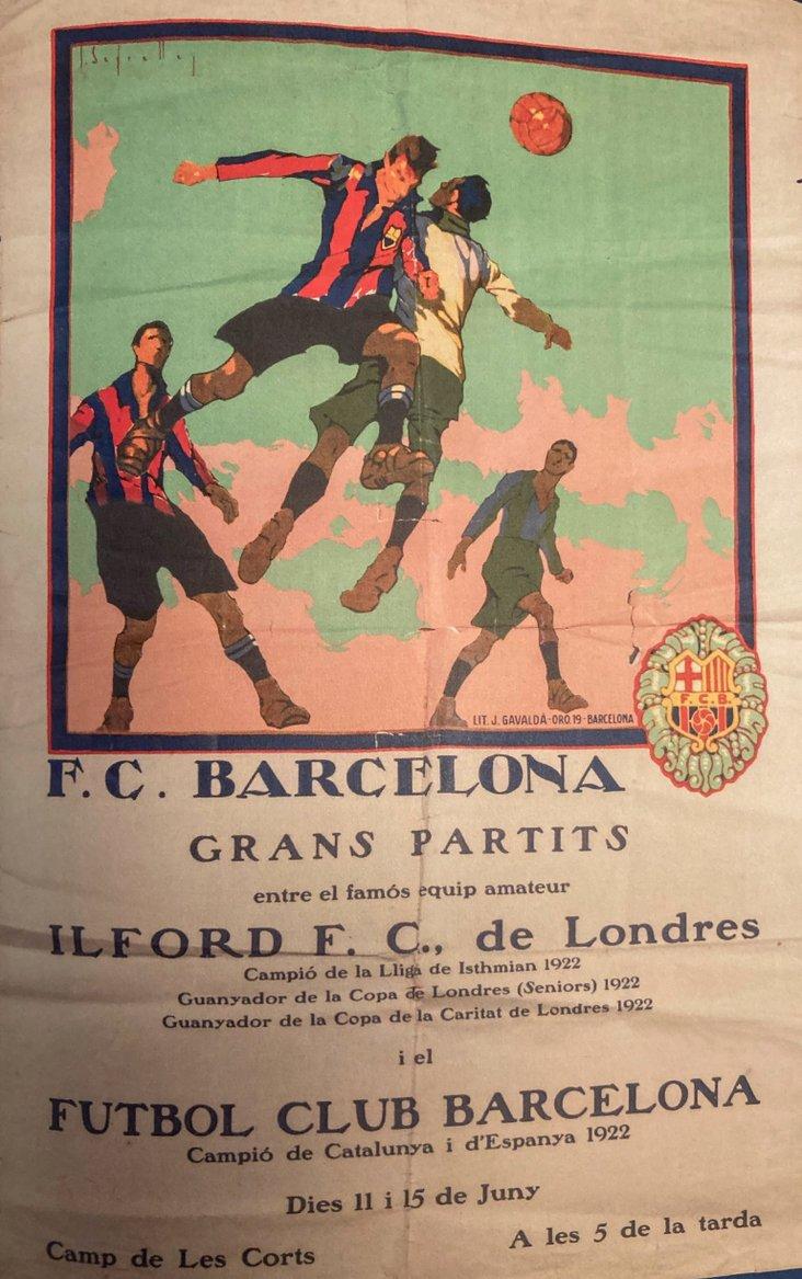 Ilford v Barcelona