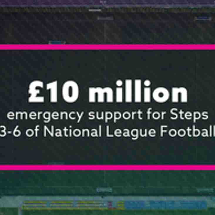 Government makes £10m available in grants for Steps Three to Six
