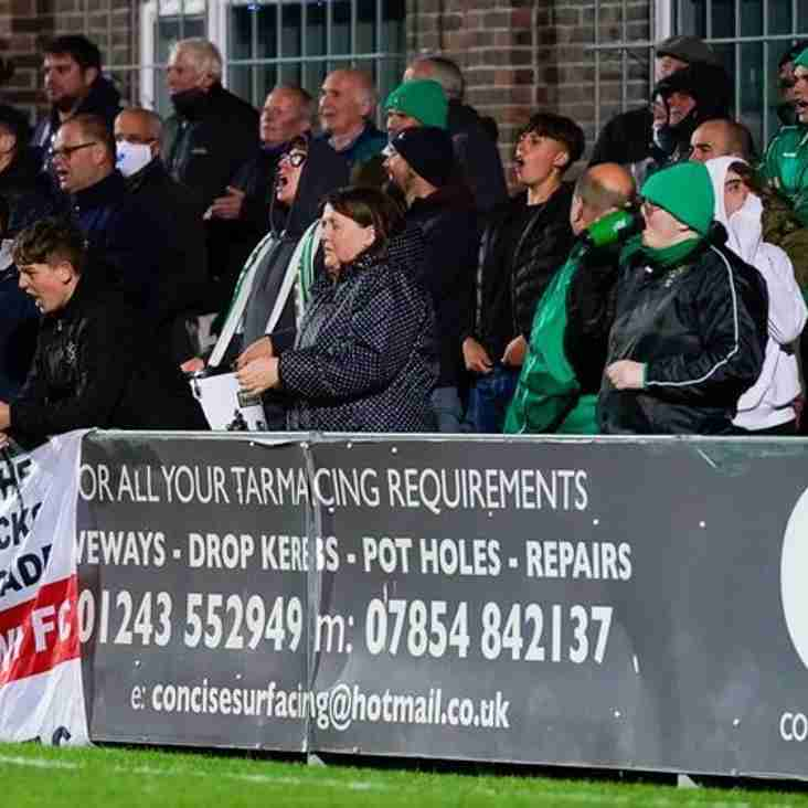 Bognor fans decide to dig deep once more