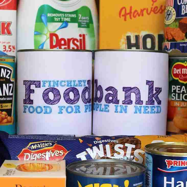 Blues open up as a food bank next week