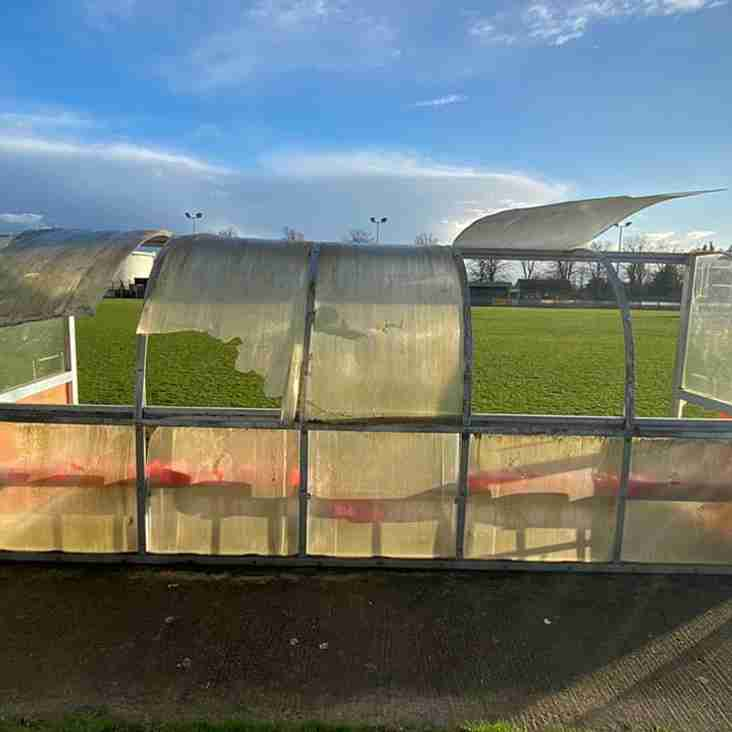 Tangerines launch an appeal to pay for vandalism repairs...