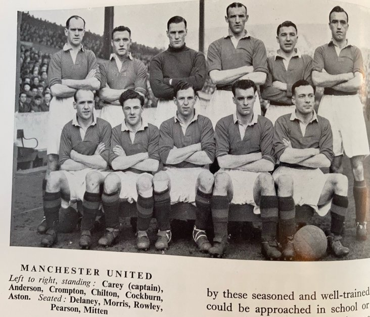 Manchester United- Cup Winners 1947-48
