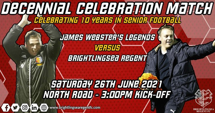 Brightlingsea Regent legends match