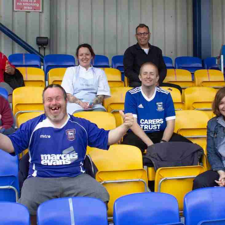 Yellows partner with local charity to help disadvantaged adults