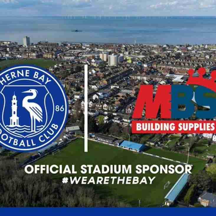 Herne Bay announce new stadium sponsorship