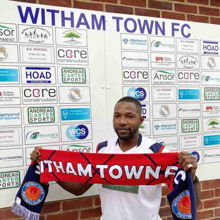Witham reinforce their midfield