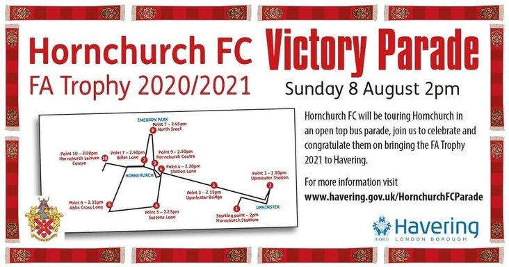 Hornchurch bus parade
