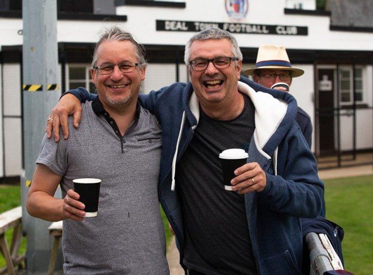 Richard Tennant (on the right, Steve Growns  on the left)