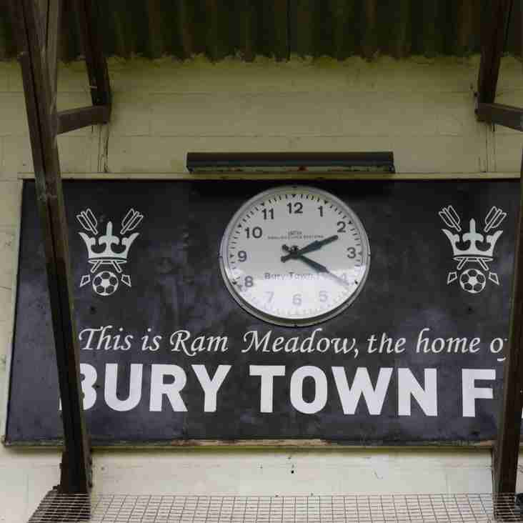 Pitching In Isthmian League- supporters predictions 2021-22: Bury Town