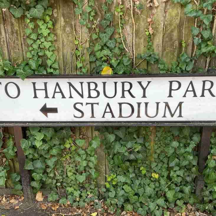 All roads lead to Hanbury Park!