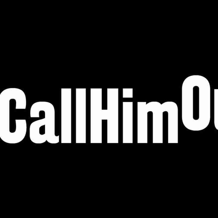 Lewes launch #CallHimOut campaign