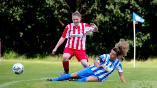 Its honours even in Darlaston's Ladies first ever home game at The Paycare Ground