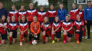 Fidelity ladies thrilling first taste of Womens football