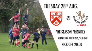 Combined Senior Rugby Squad to face Charlton Park (A)