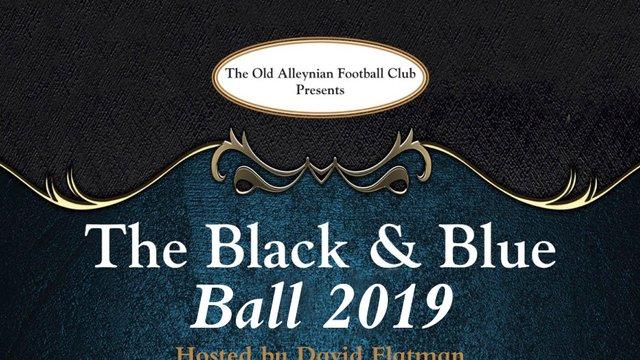 OAs Black & Blue Ball - hosted by David Flatman
