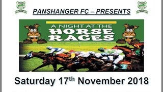 A Night at the Races - Fundraising Night 17th November 2018