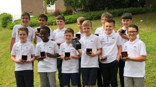 U11 Panthers Sportsmanship Awards 2019