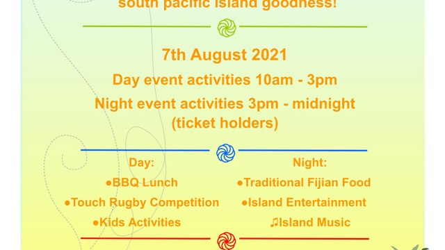 Touch of the Islands - Island Night  ***New Date 7th August 2021***