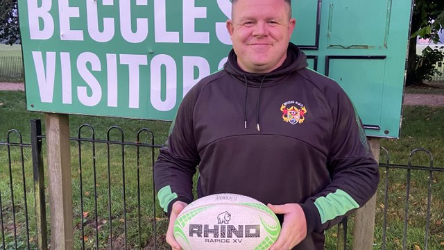 New Head coach of Beccles Rugby Club