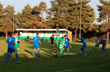 Action in the Colney Heath penalty box