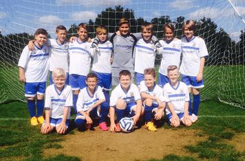 U11'S Whites ready for new season