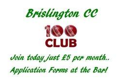 Brislington CC 100 Club