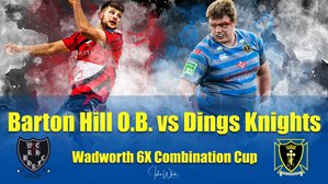Dings Knights Face Barton Hill In The Cup