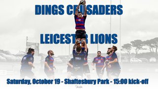 DINGS TEAM TO FACE THE LIONS