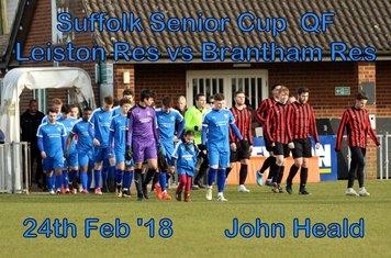 Suffolk Senior Cup QF