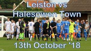 Leiston vs Halesowen Town  13th Oct '18  John Heald
