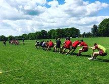 Under 16s test out Backs v Forwards