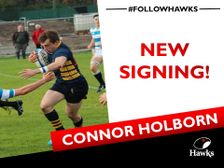 Connor Holburn next up