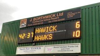 Hard won victory at HAWICK