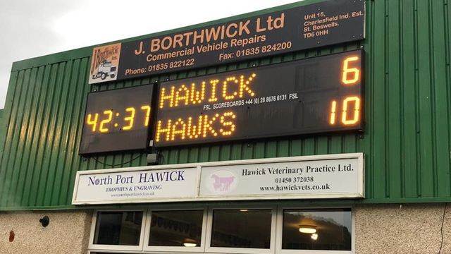 Hard won victory at HAWICK
