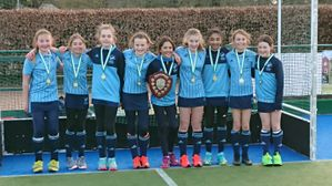 Girls Under 12 provide the finishing touches