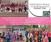 Teddington Swans Trials 2018/19