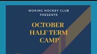 October Half Term Camp - Book now!