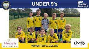 TUFC under 9s v Whitley bay Barca