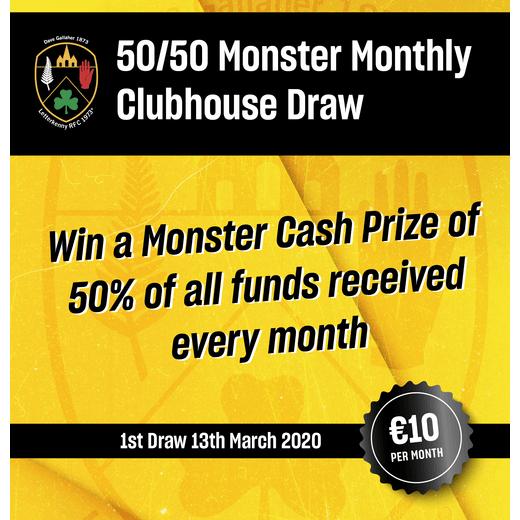 Club 50/50 Draw