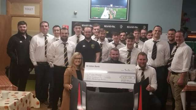 Tackling Muckish fundraiser presentation