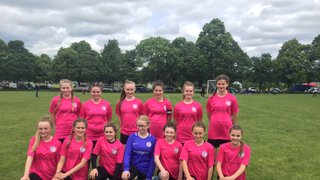 Poggy Girls first 11 a side outing!