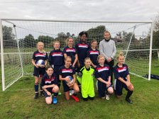 Girls give 1st class performance against League Leaders